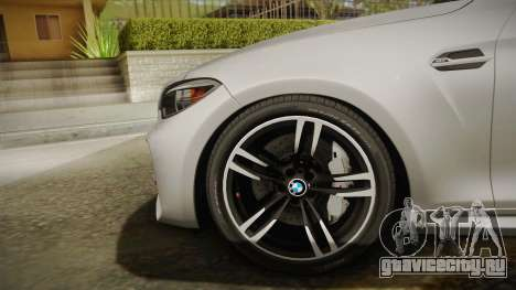 BMW M2 2017 для GTA San Andreas вид сзади слева