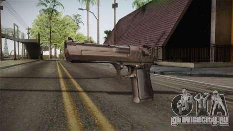 Desert Eagle 50 AE Silver для GTA San Andreas