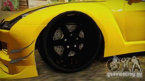 GTA 5 Annis Elegy RH8 Custom для GTA San Andreas вид сзади
