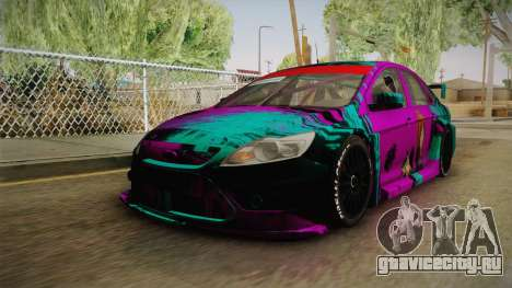 Ford Focus Sedan 2009 Edited Paintjob для GTA San Andreas