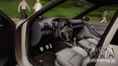 Seat León Cupra R Series I Typ 1M Tunable для GTA San Andreas вид сбоку