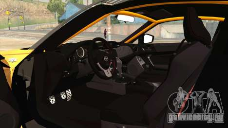 Scion FR-S Rocket Bunny PANDEM v3 RD Style для GTA San Andreas вид сбоку