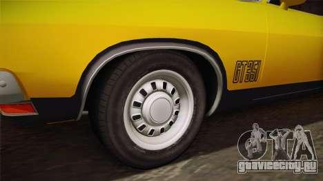 Ford Falcon 351 GT AU-spec (XB) 1973 HQLM для GTA San Andreas вид сзади
