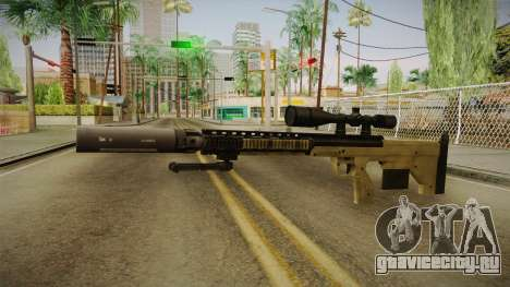 DesertTech Weapon 1 Silenced для GTA San Andreas второй скриншот