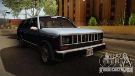 Bobcat Station Wagon v3 для GTA San Andreas вид справа
