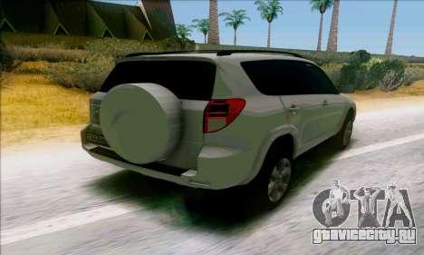 Toyota RAV4 1.0 для GTA San Andreas вид сзади слева
