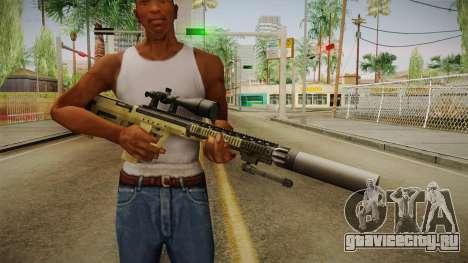 DesertTech Weapon 1 Silenced для GTA San Andreas