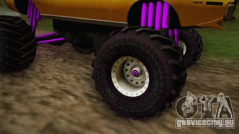 AMC Javelin AMX 401 1971 Monster Truck для GTA San Andreas вид изнутри