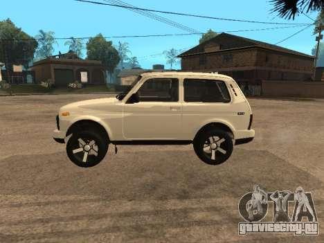 Lada Urban 2016 для GTA San Andreas вид слева