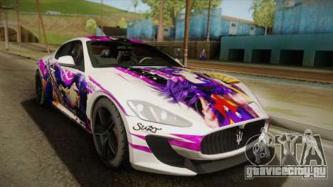 Maserati GranTurismo 2014 GOODSMILE Racing для GTA San Andreas