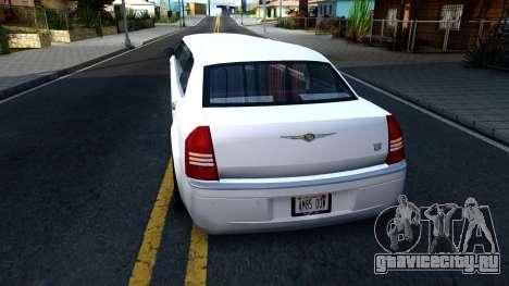 Chrysler 300C Limo 2007 IVF для GTA San Andreas вид сзади слева