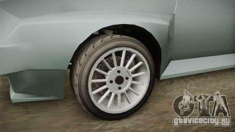 GTA 5 Obey Omnis Normal для GTA San Andreas вид сзади