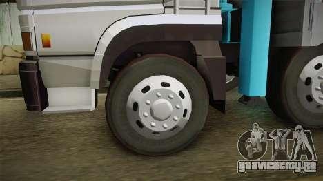 Mitsubishi Fuso 8x4 Crane SuperGreat v1.0 Fix для GTA San Andreas вид сзади