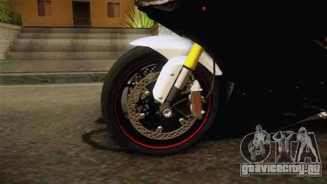Ducati 1299 Panigale S 2016 Tricolor Black для GTA San Andreas вид сзади