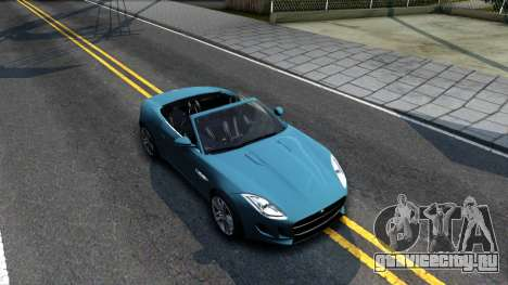 Jaguar F-Type для GTA San Andreas вид справа
