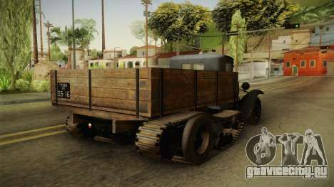 ГАЗ-65 1940 для GTA San Andreas вид справа