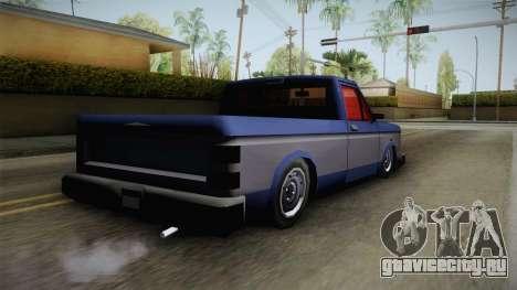 Bobcat Stance v1 для GTA San Andreas вид слева