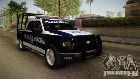 Ford F-150 Policia Municipal De Tijuana для GTA San Andreas