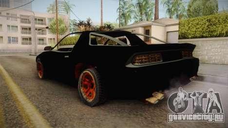 GTA 5 Imponte Ruiner 3 Wreck для GTA San Andreas вид сзади слева