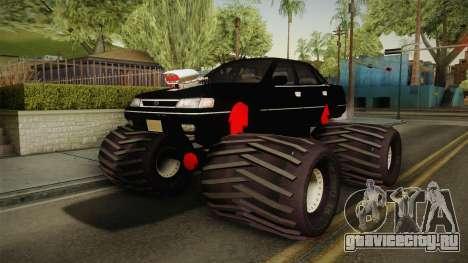 Subaru Legacy 1992 Monster Truck для GTA San Andreas