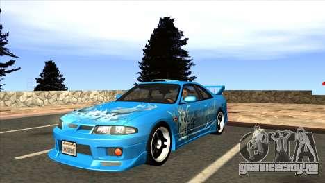 Nissan Skyline GTS25-t Mk.IX [R33] IVF Tunable для GTA San Andreas