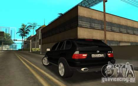 BMW X5 для GTA San Andreas вид слева