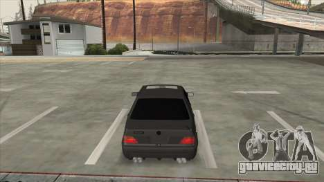 Brabus 7.3s для GTA San Andreas вид сзади слева