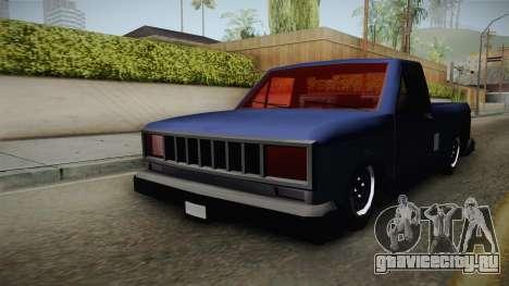 Bobcat Stance v1 для GTA San Andreas вид справа