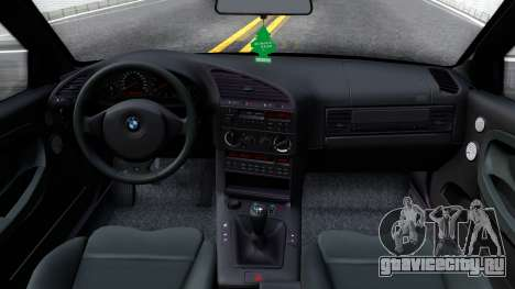 BMW M3 E36 для GTA San Andreas вид изнутри