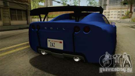 GTA 5 Voltic для GTA San Andreas вид сверху