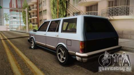 Bobcat Station Wagon v3 для GTA San Andreas вид слева