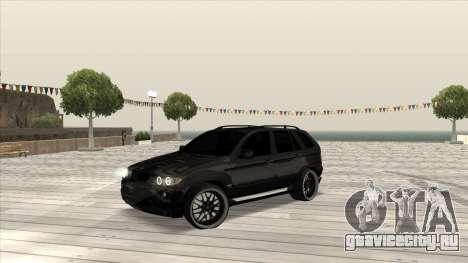 BMW X5 HAMANN для GTA San Andreas