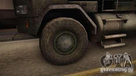 M1070 6x6 Oshkosh HET для GTA San Andreas вид сзади