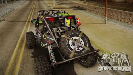 Dune Buggy Bill для GTA San Andreas вид сзади