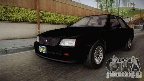 GTA 5 Vulcar Ingot Sedan для GTA San Andreas вид справа