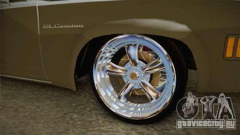 Chevrolet El Camino 1973 для GTA San Andreas вид сзади