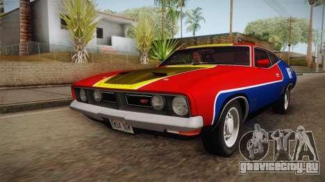 Ford Falcon 351 GT AU-spec (XB) 1973 HQLM для GTA San Andreas двигатель