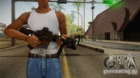 Tactical M4 для GTA San Andreas