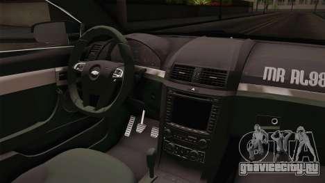 Chevrolet Caprice 2016 для GTA San Andreas вид изнутри