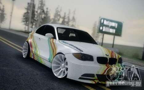 BMW 135i E82 Coupe для GTA San Andreas