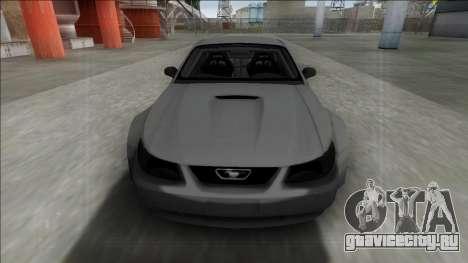 1999 Ford Mustang Rocket Bunny для GTA San Andreas