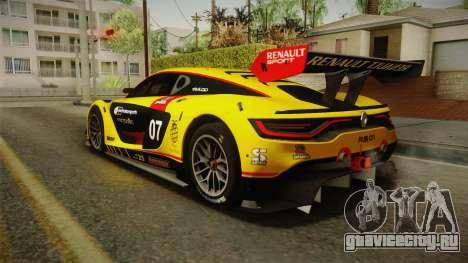 Renault Sport R.S.01 PJ3 для GTA San Andreas двигатель