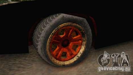 GTA 5 Imponte Ruiner 3 Wreck для GTA San Andreas вид сзади
