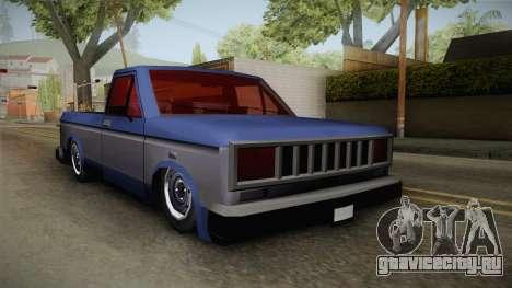 Bobcat Stance v1 для GTA San Andreas