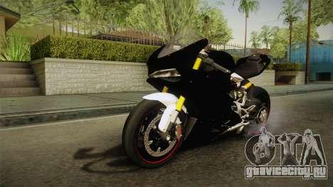 Ducati 1299 Panigale S 2016 Tricolor Black для GTA San Andreas