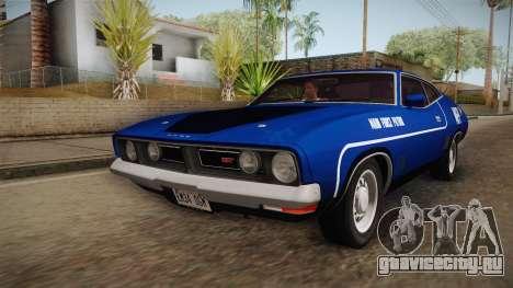 Ford Falcon 351 GT AU-spec (XB) 1973 HQLM для GTA San Andreas