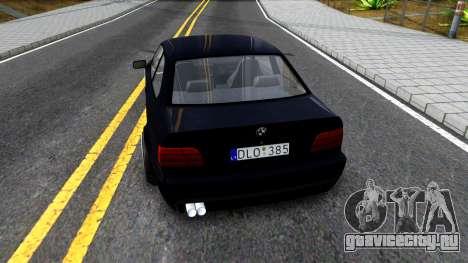 BMW M3 E36 для GTA San Andreas вид сзади слева