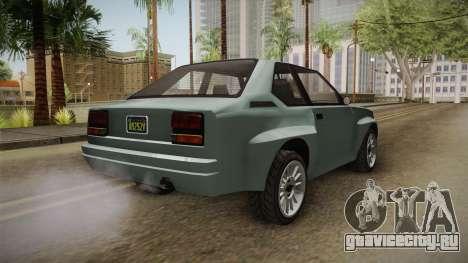 GTA 5 Obey Omnis Normal для GTA San Andreas вид слева