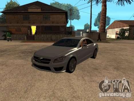 Mercedes-Benz CLS 63 AMG Armenian для GTA San Andreas