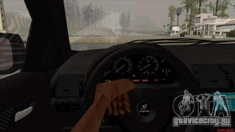 BMW X5 HAMANN для GTA San Andreas вид сзади